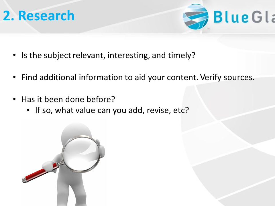 What is Linkbait2. Research Is the subject relevant, interesting, and timely.