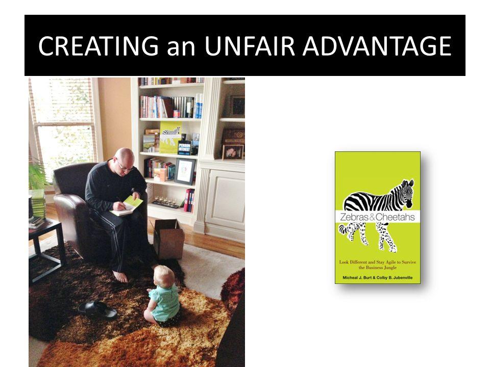 CREATING an UNFAIR ADVANTAGE