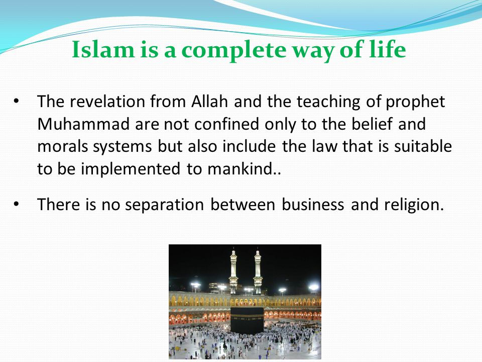 By virtue of human Nature the Muslim entrepreneurs are khalifah, and have the responsibilities to develop prosperity and sees business as part of ibadah or good deed.