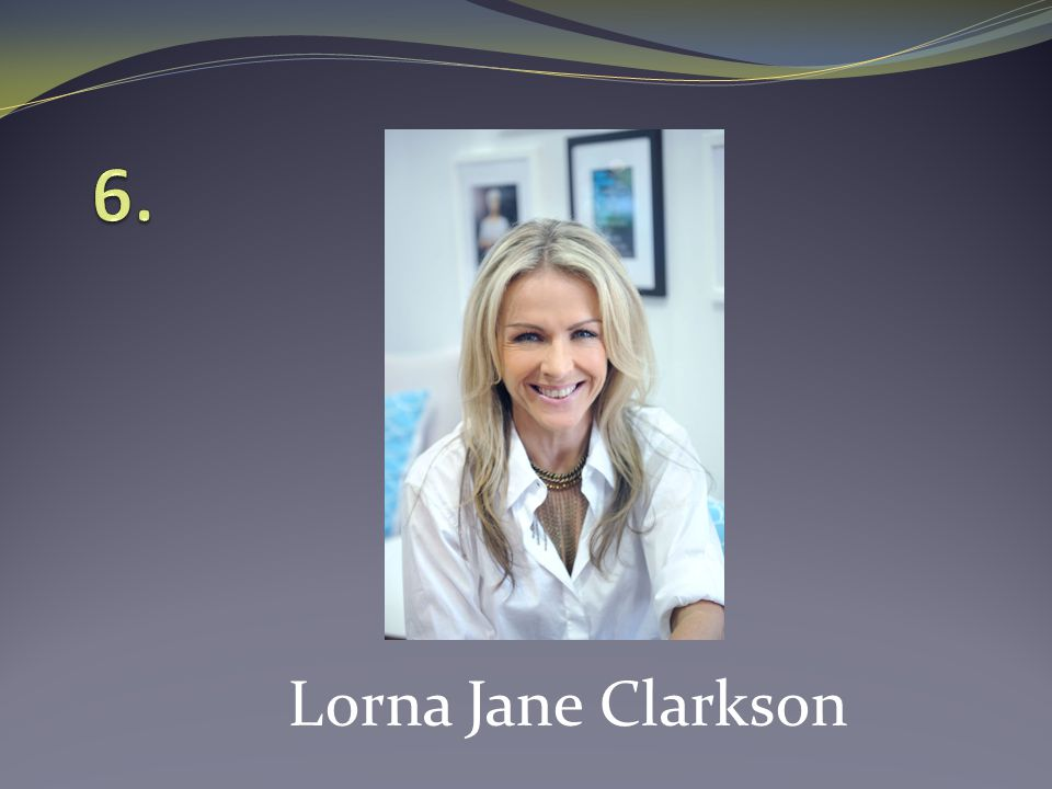 Lorna Jane Clarkson