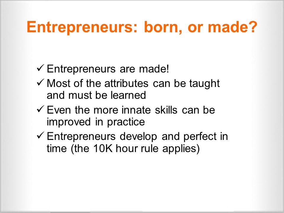 Waves, cycles, entrepreneurs