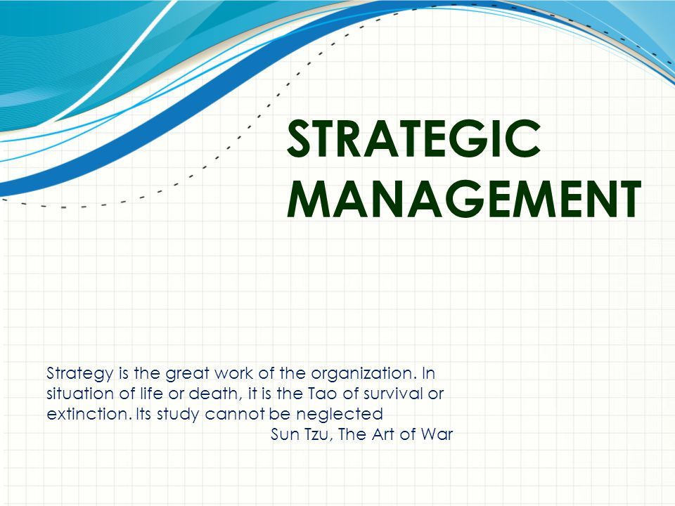 12 Strategic Management Small companies that are prepared can create the disruptions that revolutionize their industries, and, in the process, create a competitive edge – Apple Computer and the iPod Knowledge has become the critical factor of production Intellectual capital counts!