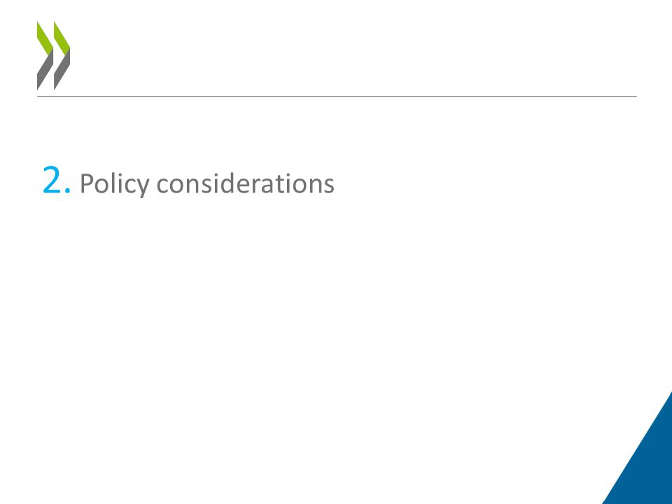 2. Policy considerations