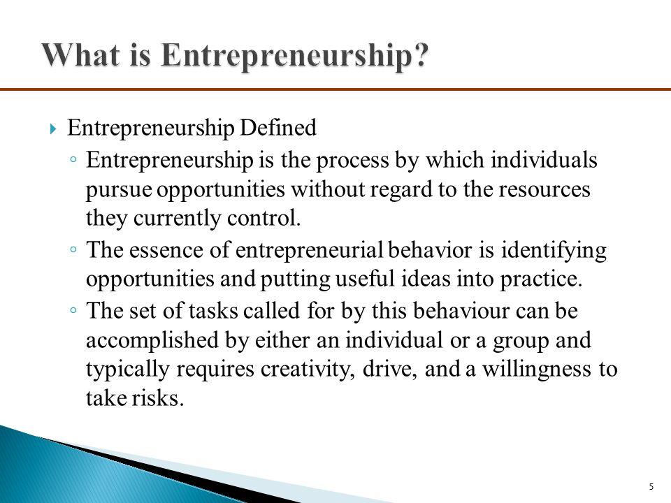  Myth 2: Entrepreneurs Are Gamblers ◦ A second myth about entrepreneurs is that they are gamblers and take big risks.
