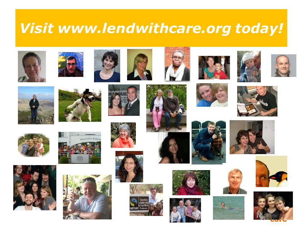 Visit www.lendwithcare.org today!