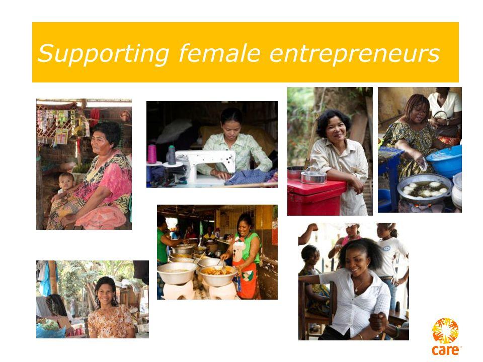 Supporting female entrepreneurs