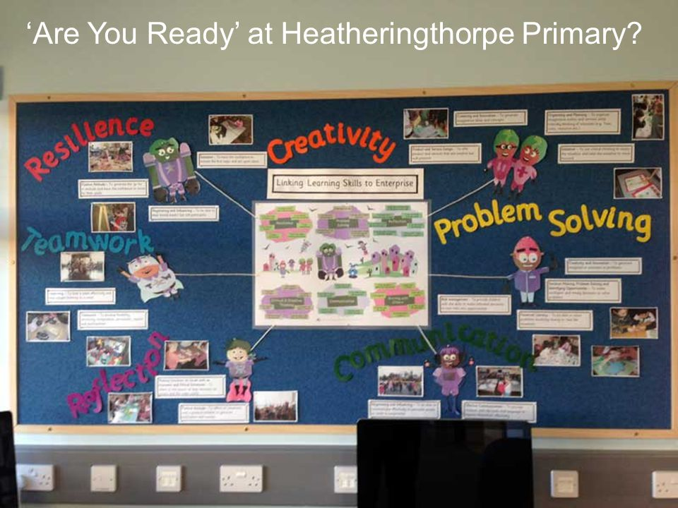 'Are You Ready' at Heatheringthorpe Primary