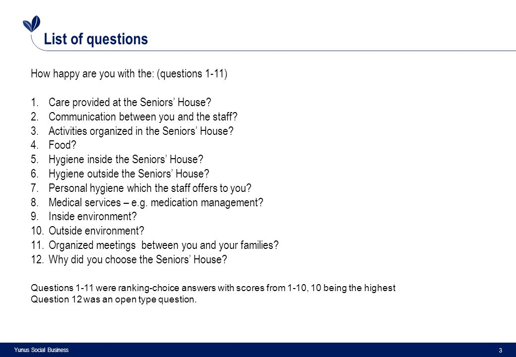 4 Yunus Social Business Questions and answers