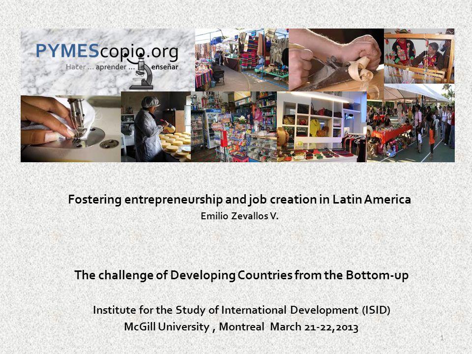 Latin America competitiveness 2011-12 Fuente: World Economic Forum, 2011-2012 Increasing competitiveness 12
