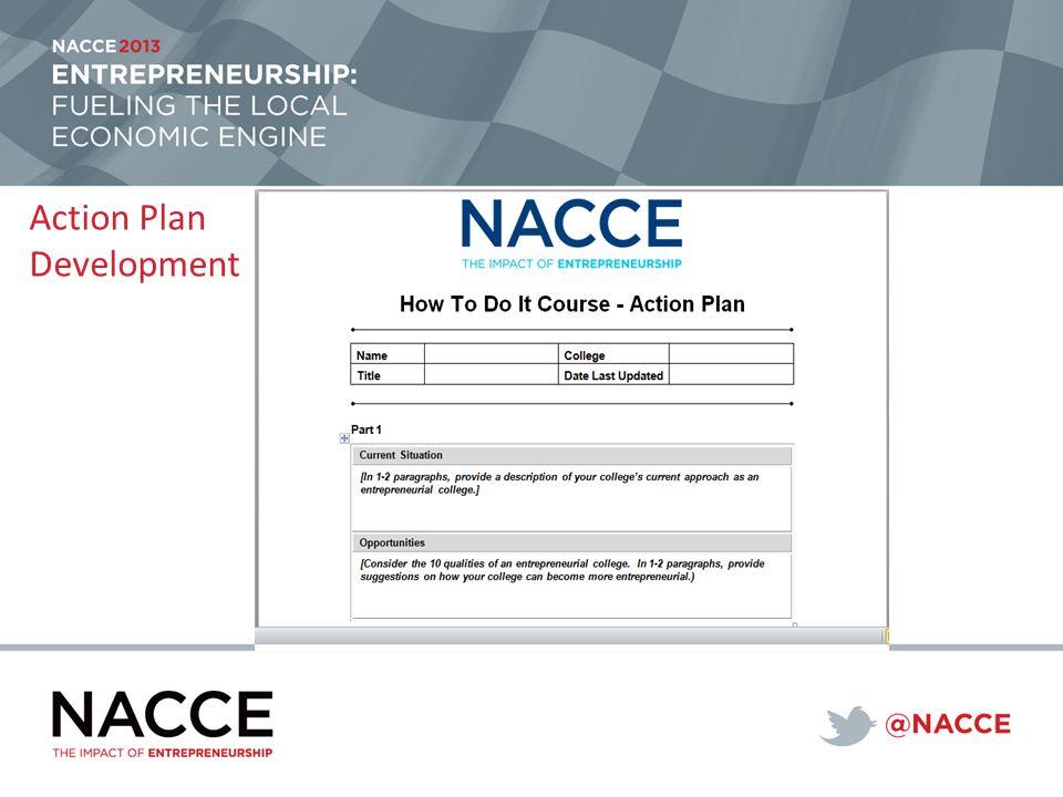 Action Plan Development