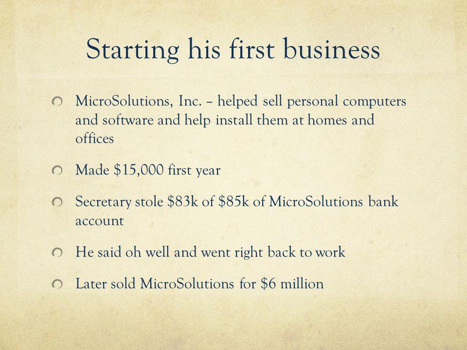 No business plan?.