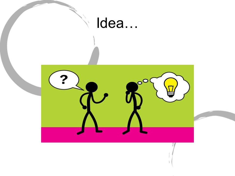 Idea…
