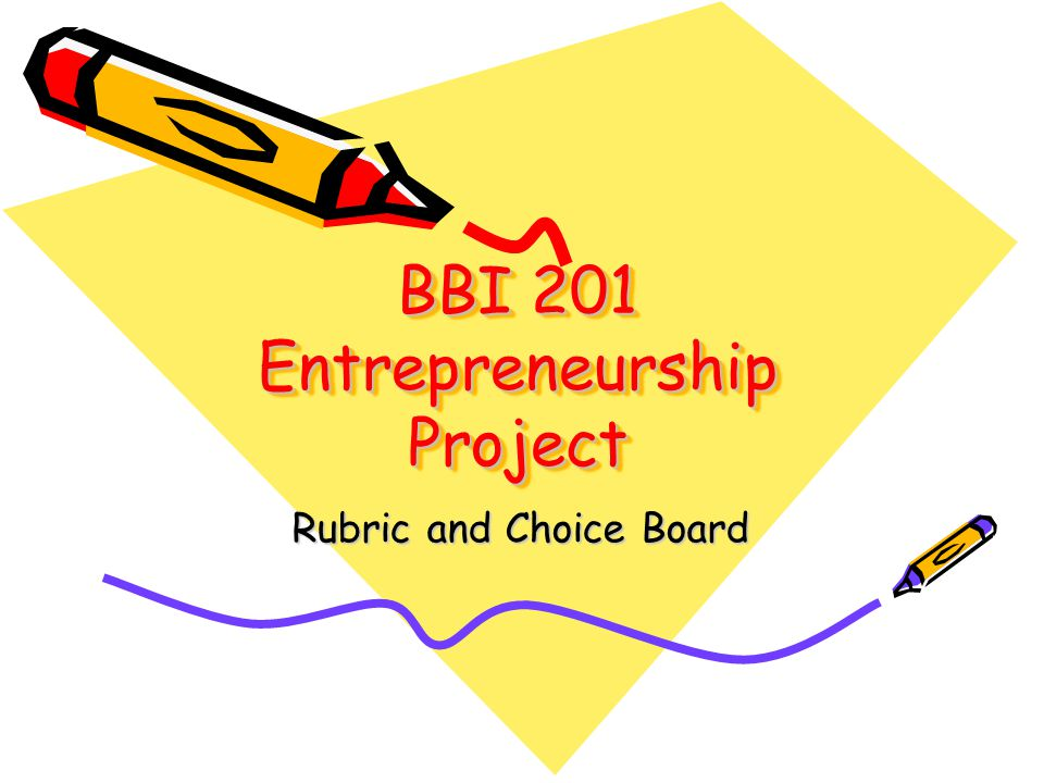 BBI 201 Entrepreneurship Project Each student is to submit a fact sheet on their entrepreneur Each student may choose 1 item from the choice board You may select one topic from The Greatest Canadian Inventions or Select another entrepreneur and inform your teacher NO DUPLICATE TOPICS!