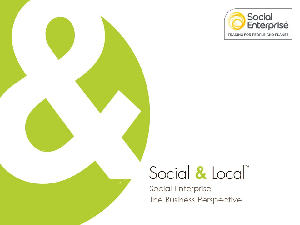 Social Enterprise The Business Perspective