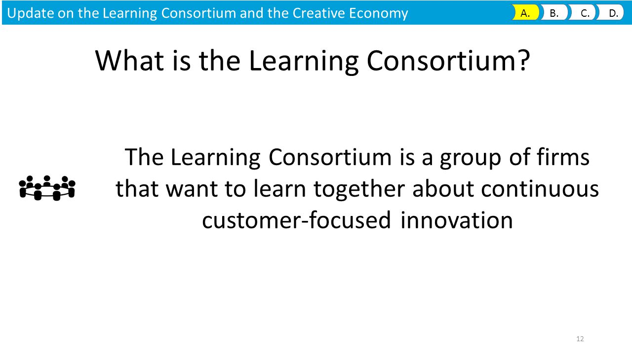 What is the Learning Consortium.