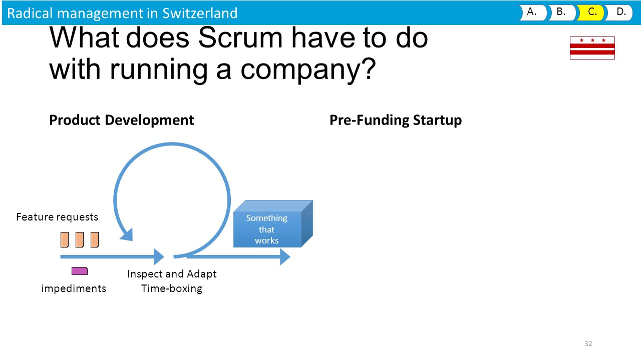 What does Scrum have to do with running a company.
