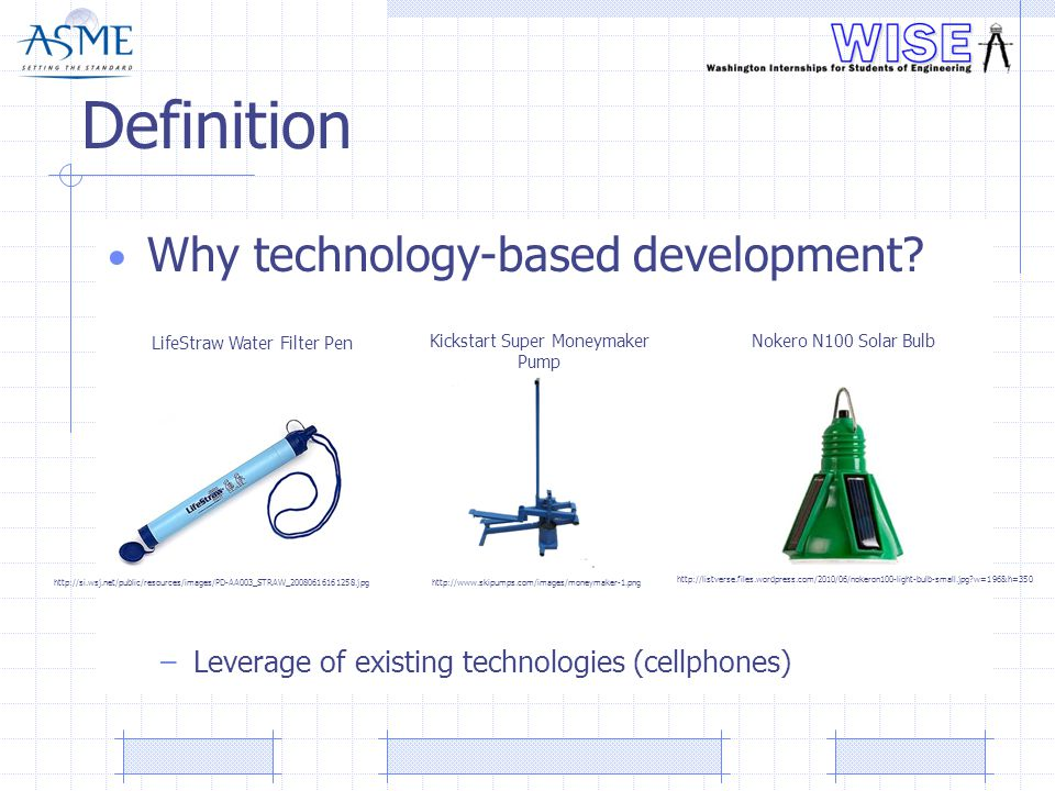 Definition Why technology-based development.