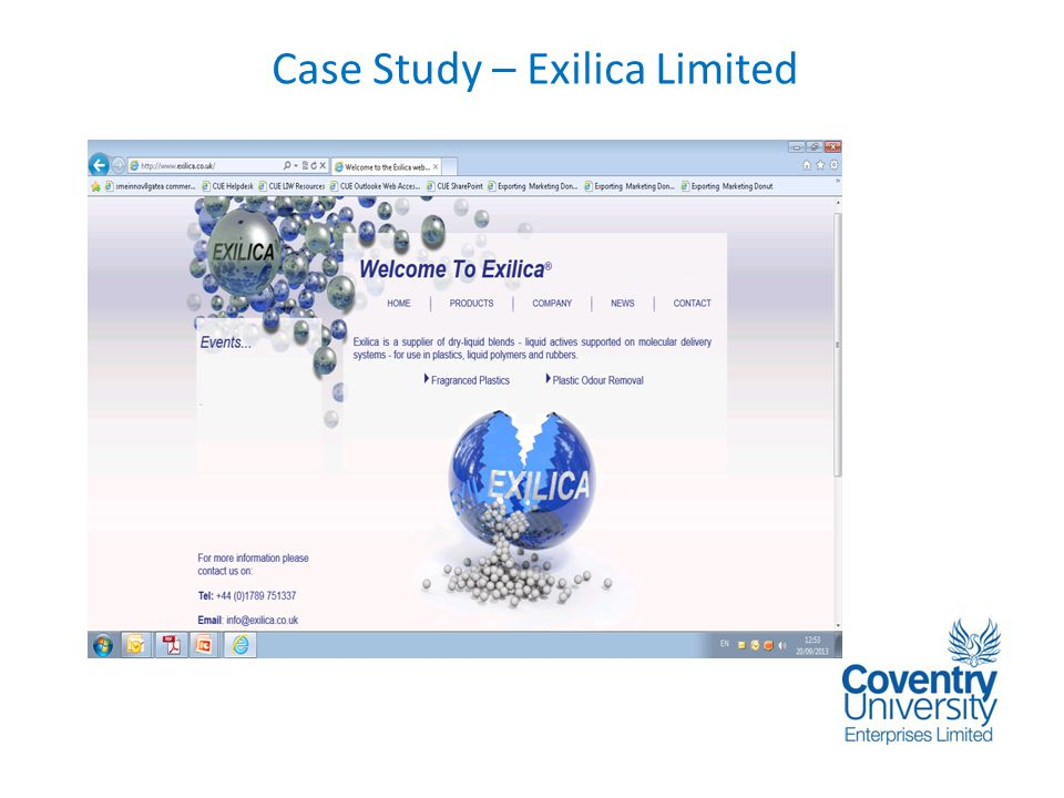 Case Study – Exilica Limited