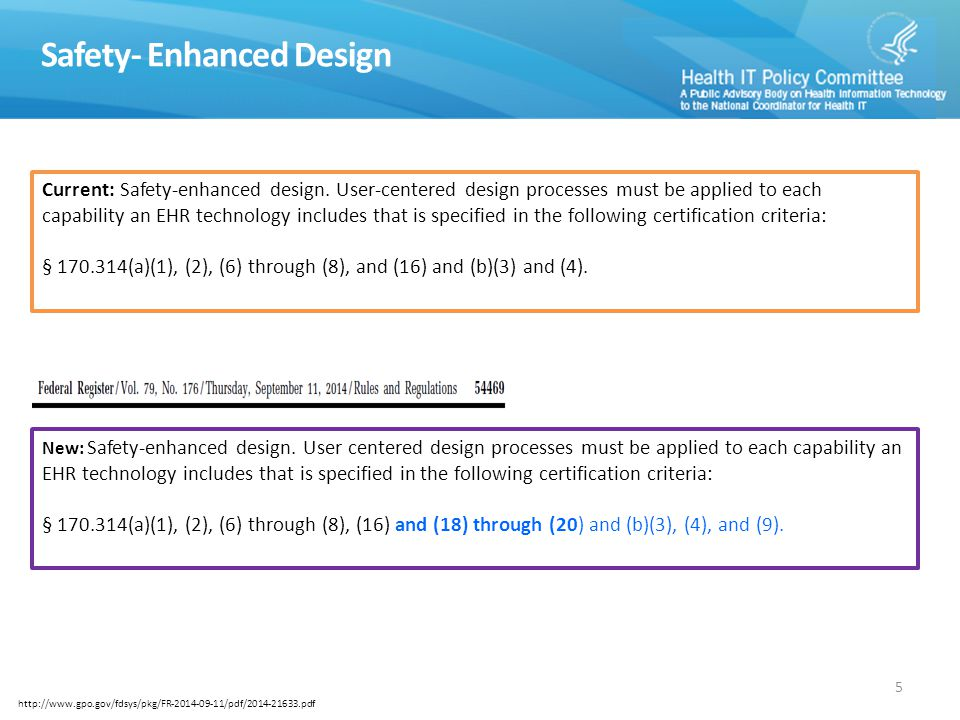 Certified HIT Product List All products at www.healthit.gov/chplwww.healthit.gov/chpl Test Result Transparency: The final rule requires that ONC-ACBs submit a hyperlink of the test results used to issue a certification to a Complete EHR or EHR Module.hyperlink of the test results Includes information on what was tested, write-ups on the usability assessments performed, and more.