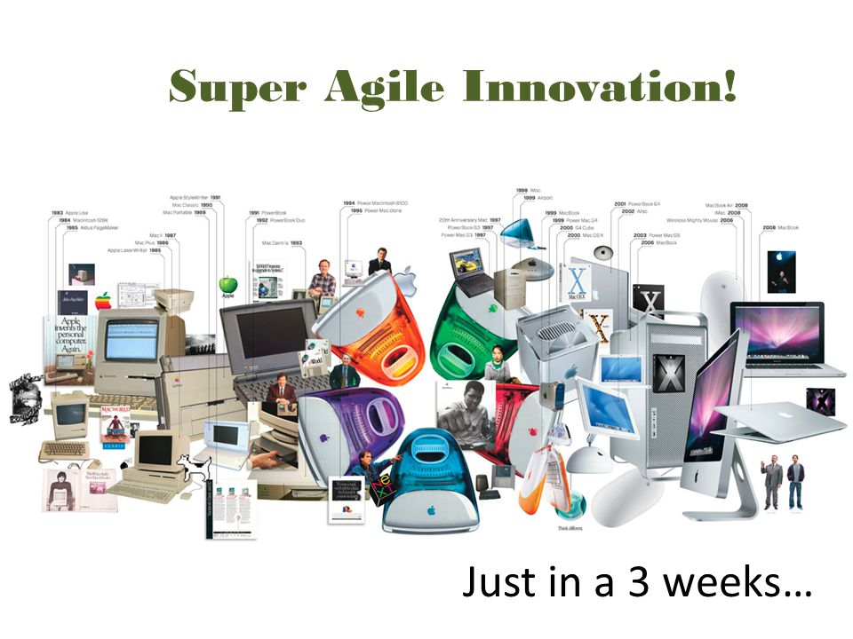 Super Agile Innovation! Just in a 3 weeks…