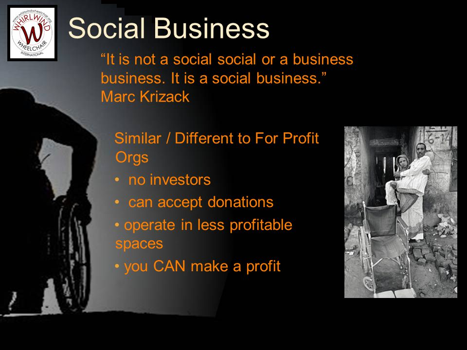 Social Business It is not a social social or a business business.