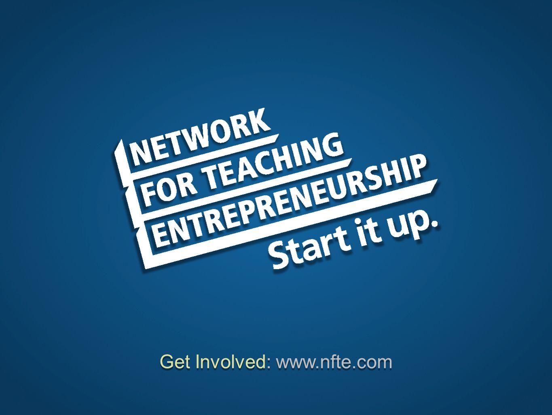 Get Involved: www.nfte.com