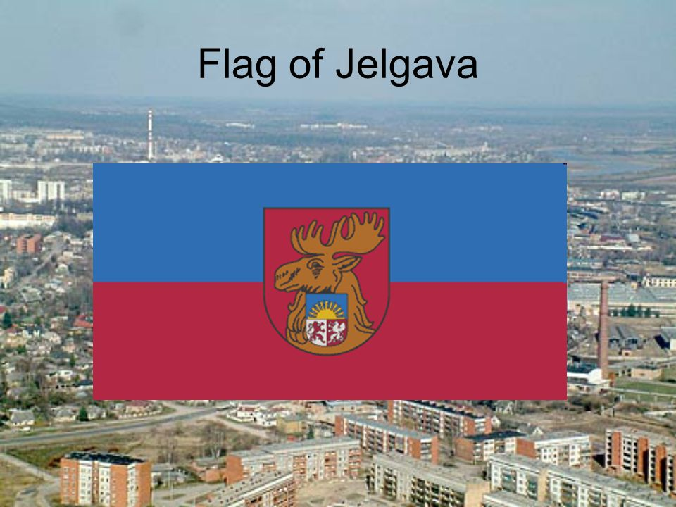 Flag of Jelgava