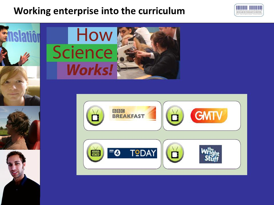 Working enterprise into the curriculum