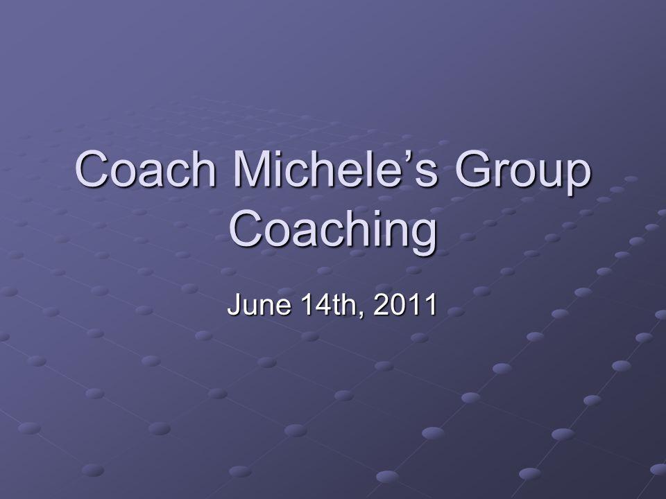 2Copyright (c) Michele Caron, 2011 Today's Topic Techniques – Coaching vs. Fixing