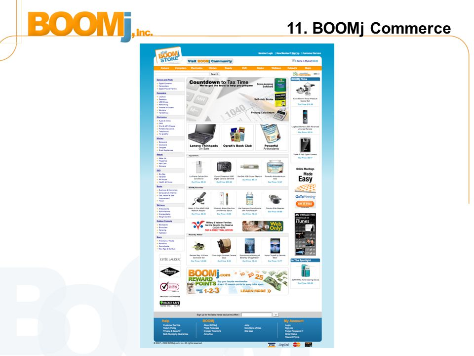 11. BOOMj Commerce