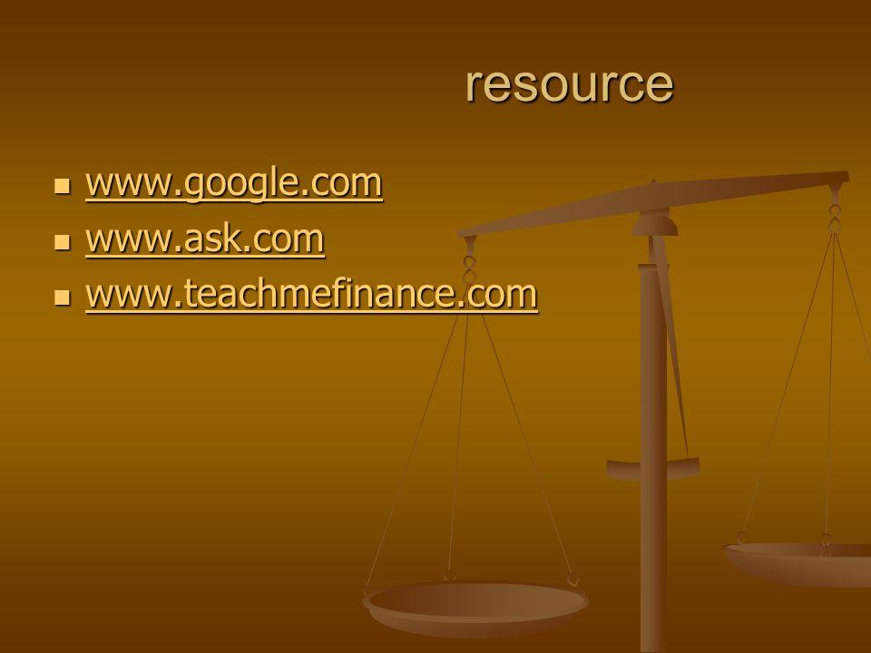 resource resource www.google.com www.google.com www.google.com www.ask.com www.ask.com www.ask.com www.teachmefinance.com www.teachmefinance.com www.teachmefinance.com