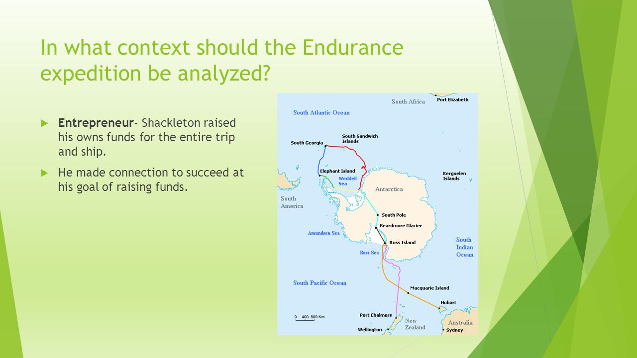 In what context should the Endurance expedition be analyzed.