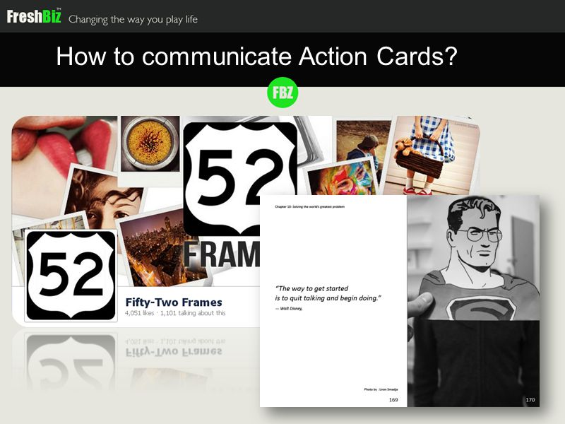How to communicate Action Cards