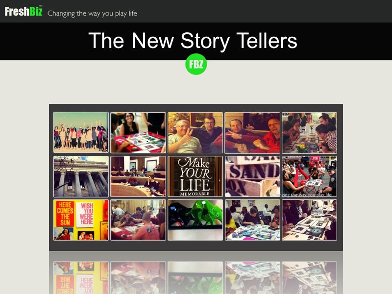 The New Story Tellers
