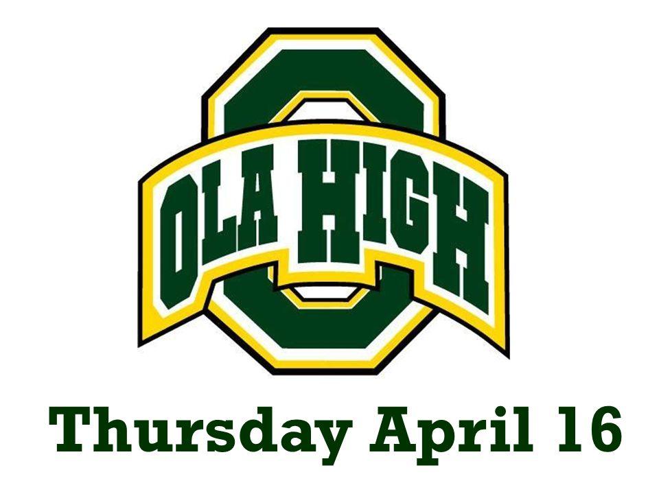 Thursday April 16