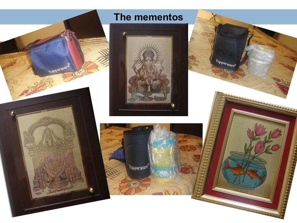 The mementos