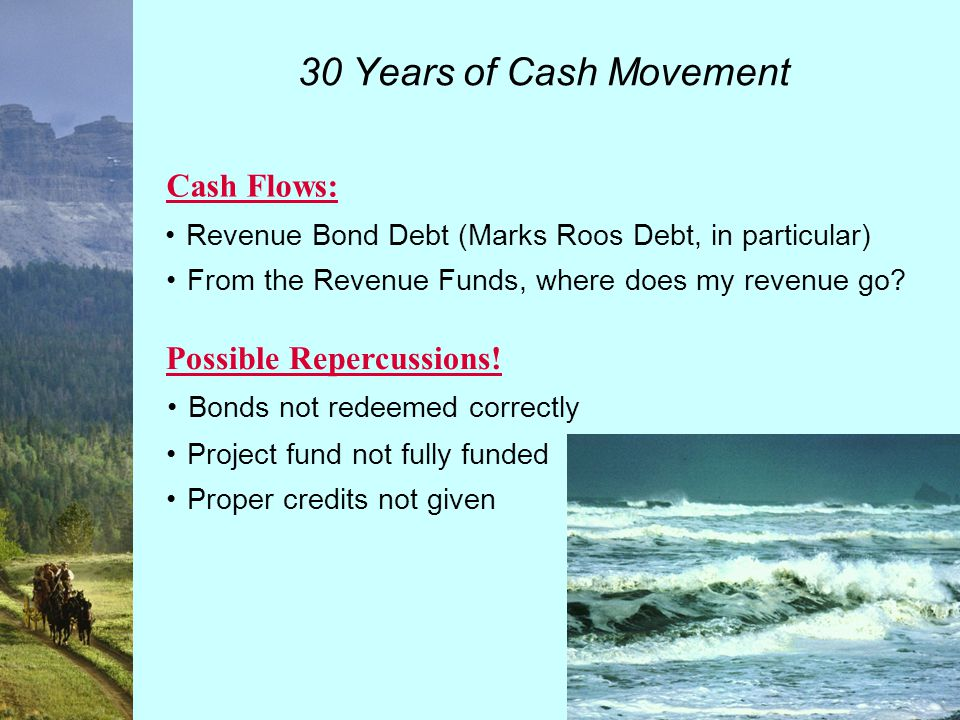 30 Years of Cash Movement Revenue Fund Section Flow of Funds Section Sections of Trust Agreement to Review