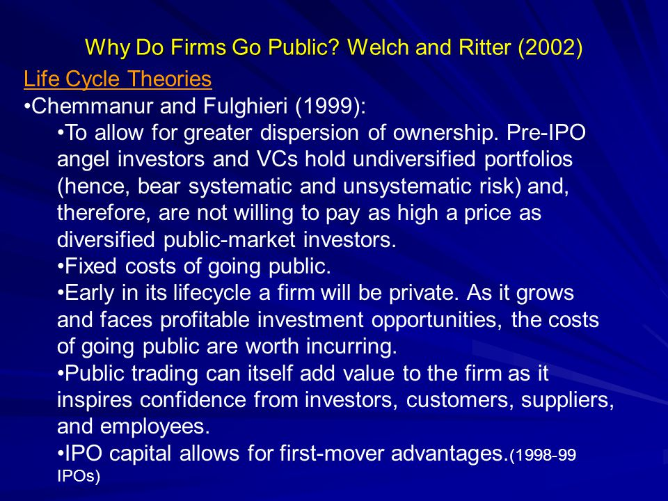 Why are IPOs underpriced.III.