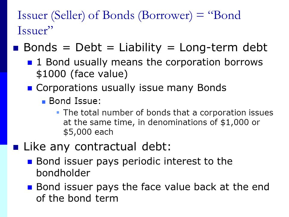 Chapter Outline Bonds and Bond Valuation More on Bond Features Bond Ratings Some Different Types of Bonds Bond Markets Inflation and Interest Rates De