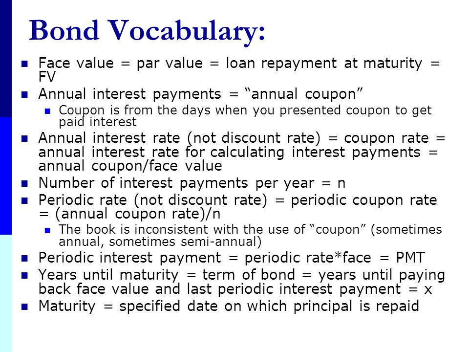 """Buyer of Bonds (Lender) = """"Bondholder"""" Bonds = Asset 1 Bond usually means the borrow lends money to the corporation or government Like any contractual"""