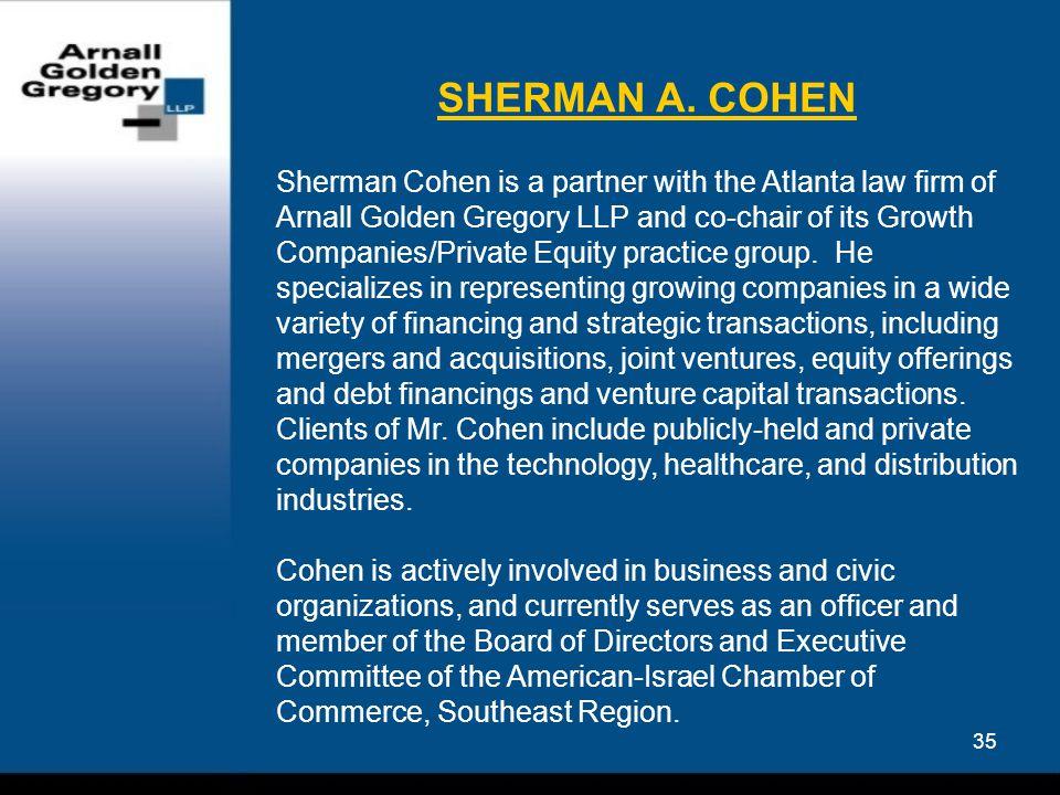 35 SHERMAN A.
