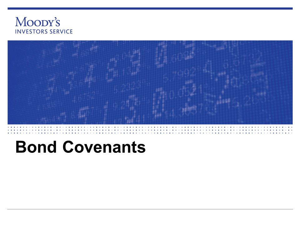 Bond Covenants