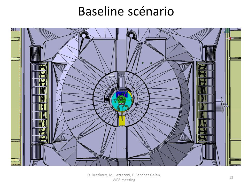 Baseline scénario D. Brethoux, M. Lazzaroni, F. Sanchez Galan, WP8 meeting 13