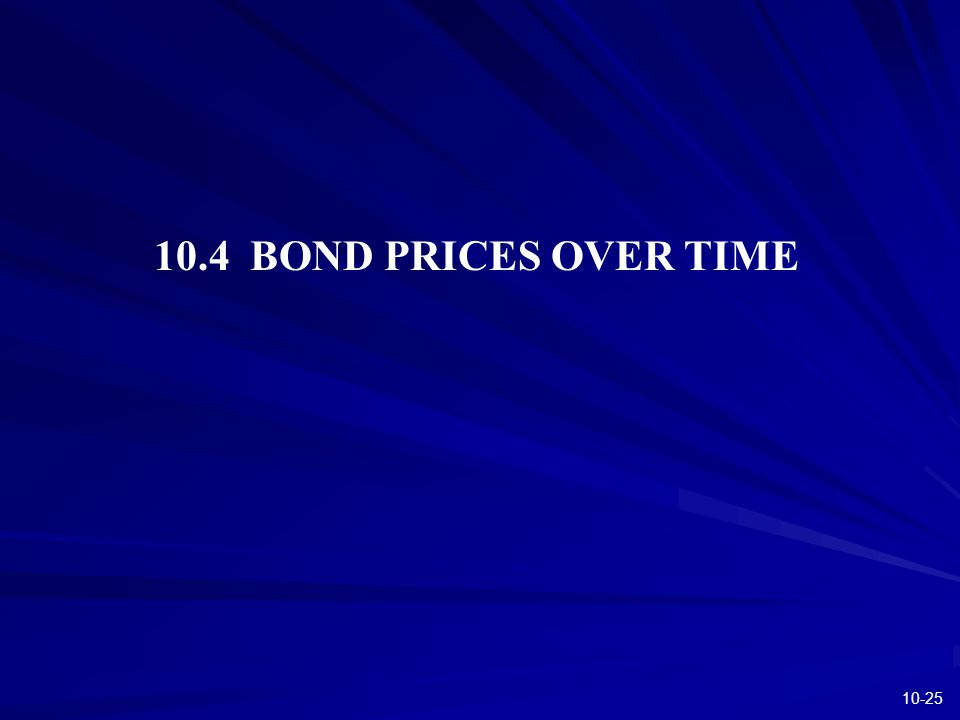 10-25 10.4 BOND PRICES OVER TIME