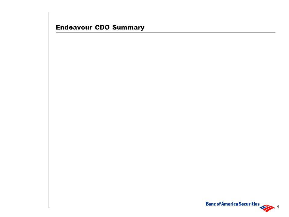 4 Endeavour CDO Summary