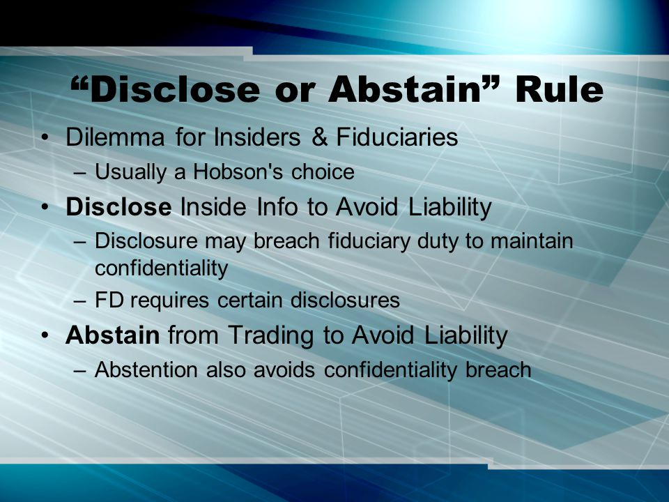 IT as a Form of Fraud Misrepresentation –Commissions –Omissions –Half-Truths Material Fact Justifiable Reliance Damages