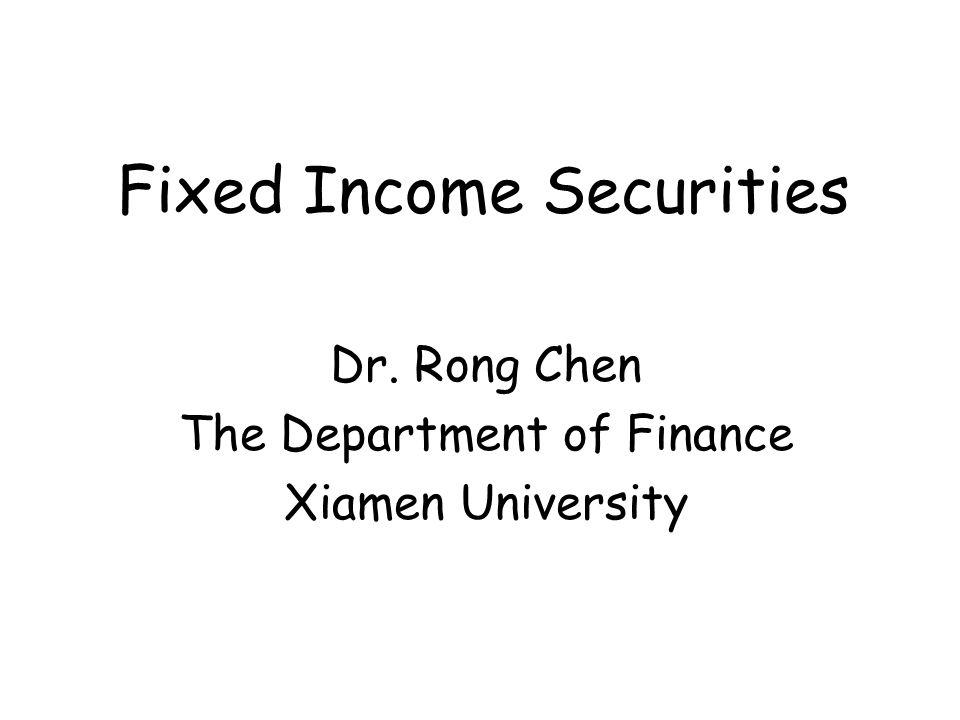 Fixed income .