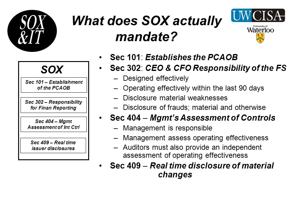What does the PCAOB require.