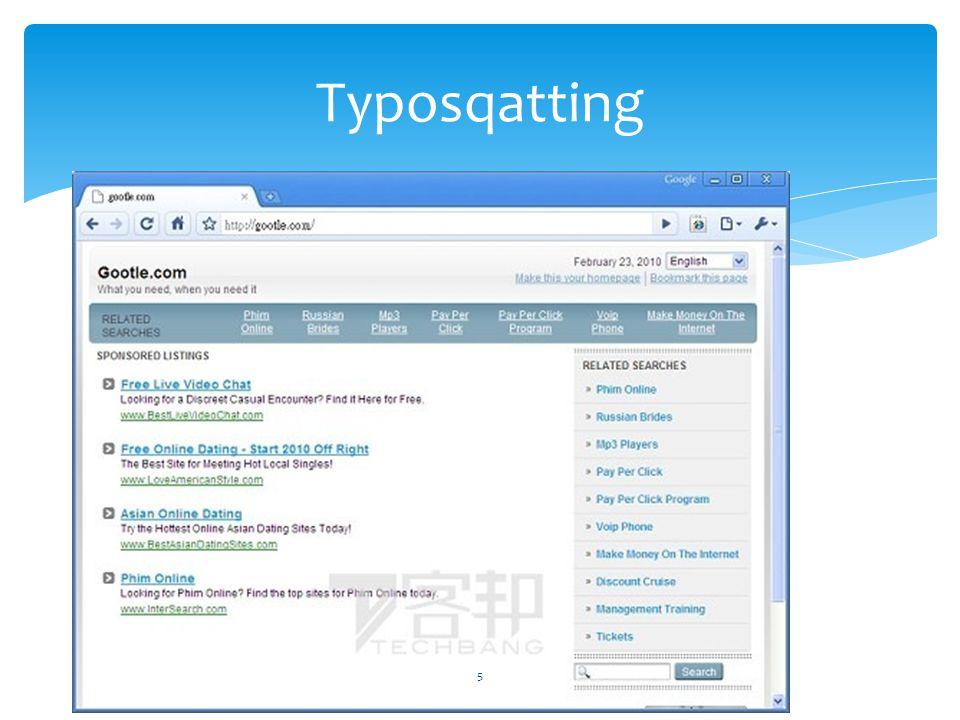 5 Typosqatting