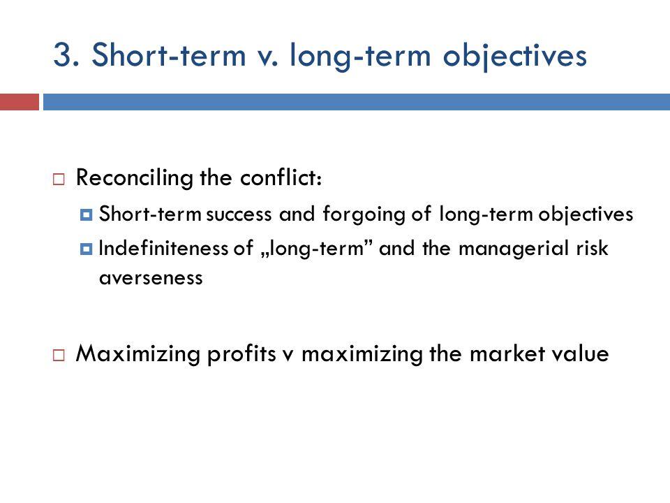 3. Short-term v.